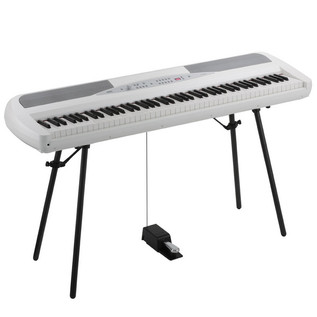Korg SP-280 Digital Stage Piano, White