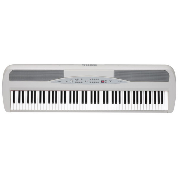Korg SP-280 Digital Stage Piano, White Top