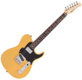 Fret King Black Label Country Squire Classic Guitar, Butterscotch - main