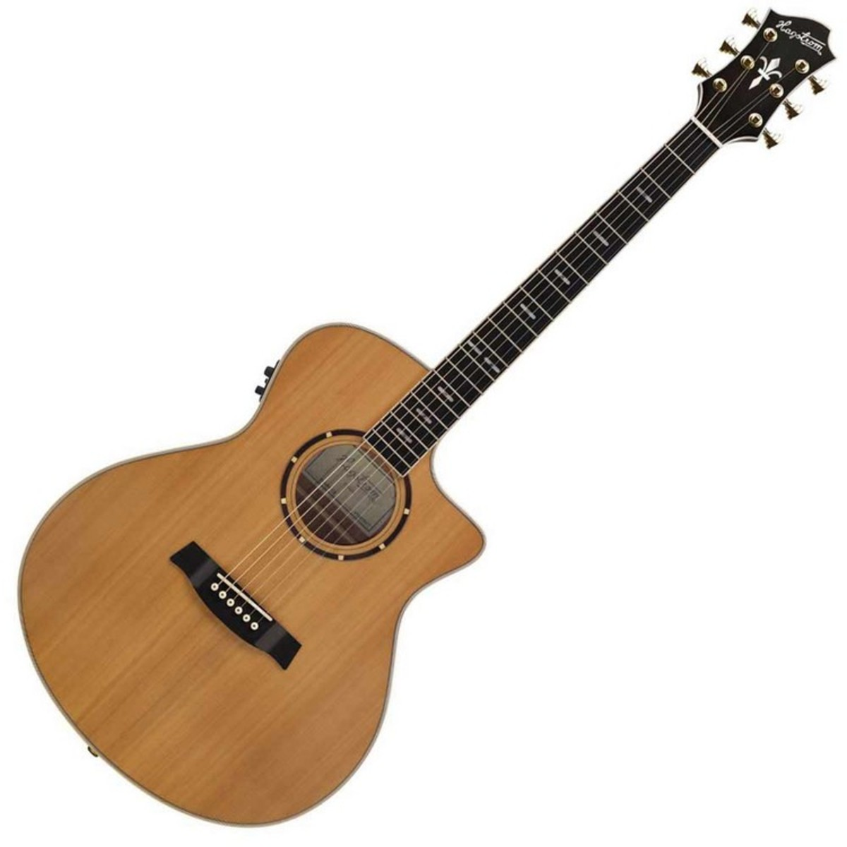 Click to view product details and reviews for Hagstrom Elfdalia Grand Auditorium Electro Acoustic Guitar Natural.