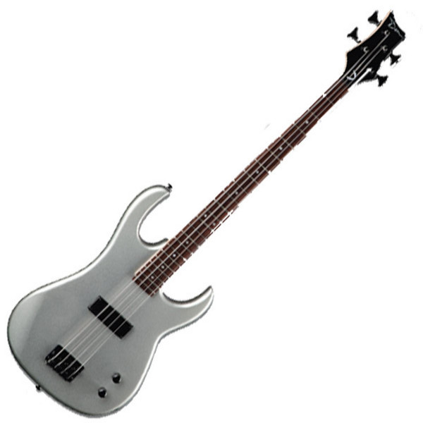 Dean Zone Series Bass, Metallic Silver