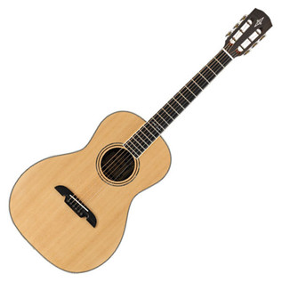 Alvarez AP70 Parlor Acoustic Guitar, Natural - main
