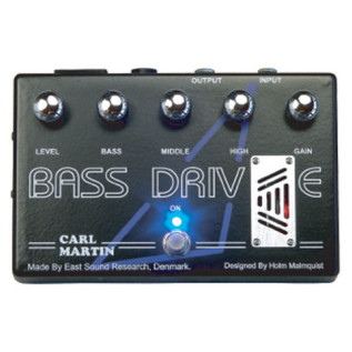 Carl Martin BassDrive Effects Pedal - main