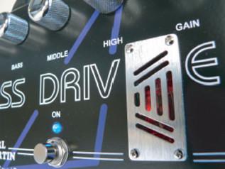 Carl Martin BassDrive Effects Pedal - angle 1
