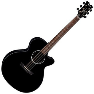 Dean Performer Plus Electro Acoustic, Black Satin