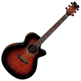 Dean Performer Ultra Electro Acoustic, Quilt Ash, Tiger Eye Finish