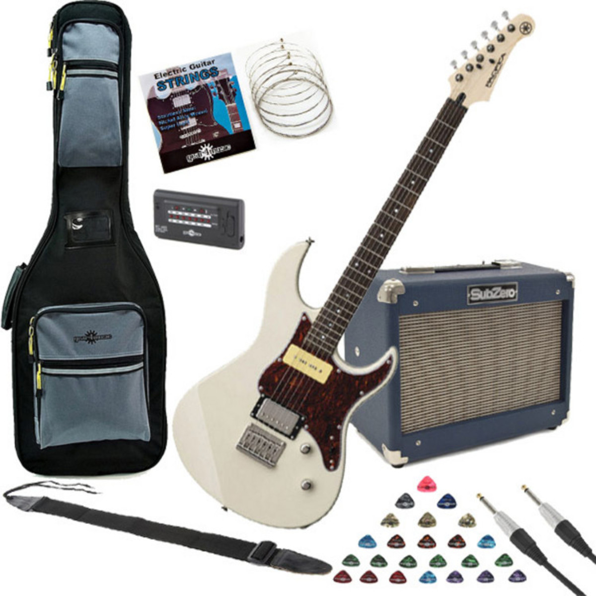 Click to view product details and reviews for Yamaha Pacifica 311h Electric Guitar White With Subzero 10w Amp Pack.