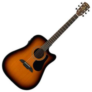 Alvarez RD16CE Dreadnought Electro-Acoustic Cutaway Guitar, Sunburst