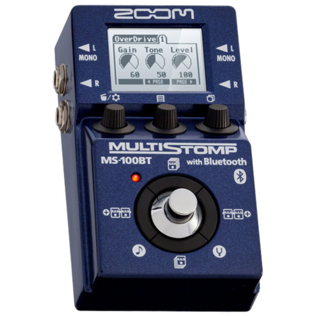 Zoom MS-100BT MultiStomp Drivers for Mac Download