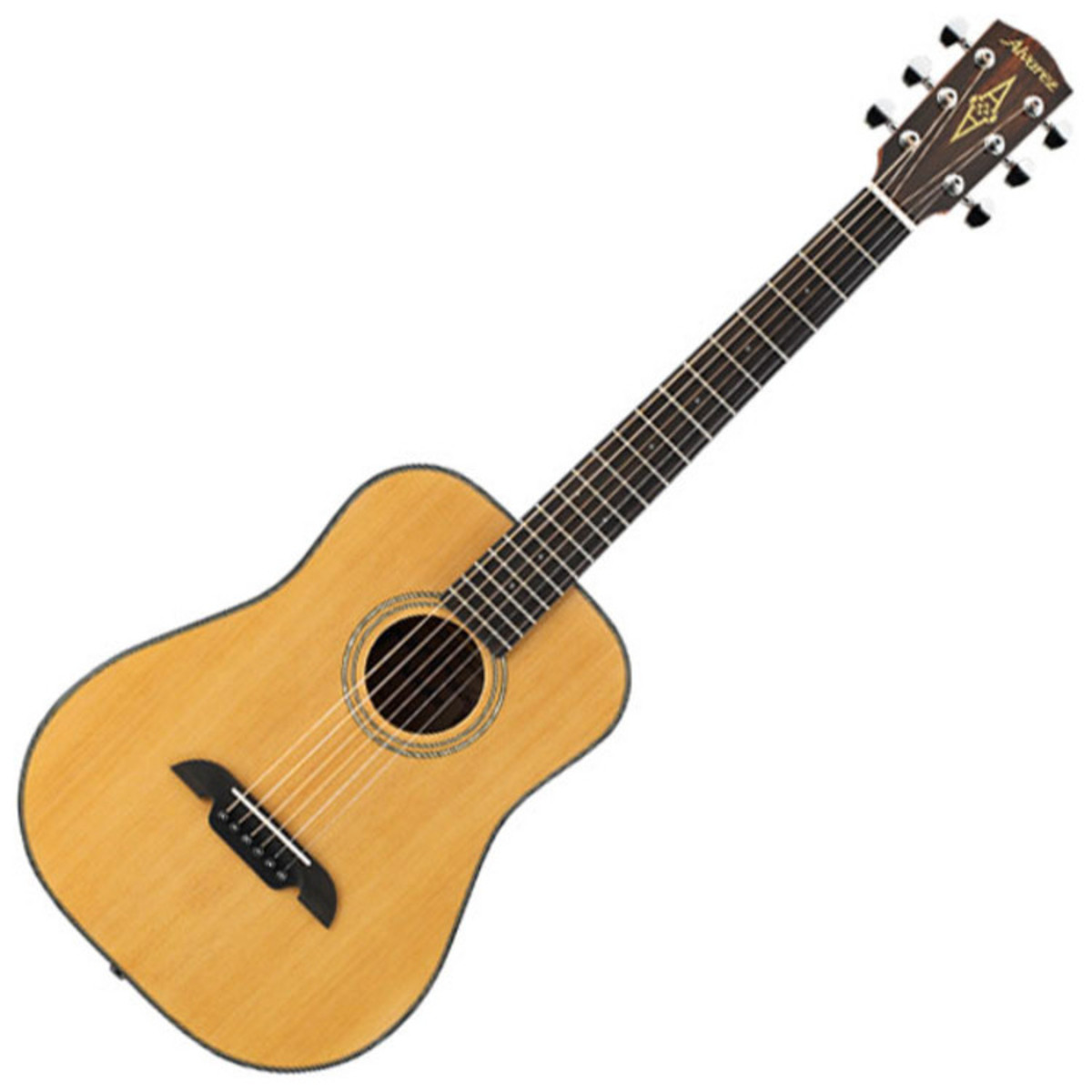 disc alvarez rt16 travel acoustic guitar natural with gigbag at gear4music. Black Bedroom Furniture Sets. Home Design Ideas