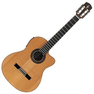 Alvarez AC65CE Electro Acoustic Classical Guitar, Natural