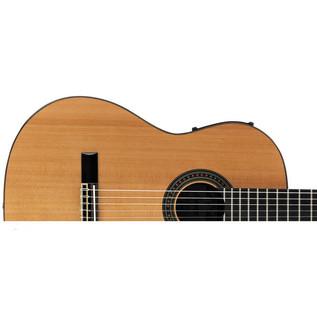 Alvarez AC65CE Electro Acoustic Classical Guitar, Natural Upper Body