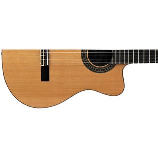 Alvarez AC65CE Electro Acoustic Classical Guitar, Natural Lower Body