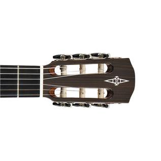 Alvarez AC65CE Electro Acoustic Classical Guitar, Natural Headstock