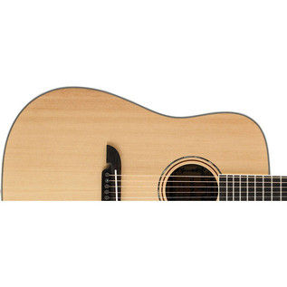 Alvarez AD60 Dreadnought Acoustic Guitar, Natural Upper Body