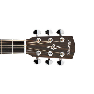 Alvarez AD60 Dreadnought Acoustic Guitar, Natural Headstock