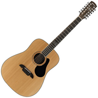 Alvarez AD60-12 12-String Dreadnought Acoustic Guitar, Natural