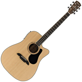 Alvarez AD60CE Dreadnought Electro Acoustic Guitar, Natural