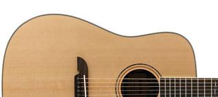 Alvarez AD90 Dreadnought Acoustic Guitar, Natural Upper Body