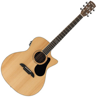 Alvarez AG60CE Grand Auditorium Electro Acoustic Guitar, Natural