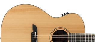 Alvarez AG60CE Grand Auditorium Electro Acoustic Guitar, Natural Upper Body
