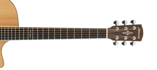 Alvarez AG60CE Grand Auditorium Electro Acoustic Guitar, Natural Neck