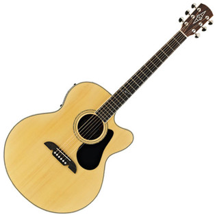 Alvarez AJ80CE Jumbo Electro Acoustic Guitar, Natural