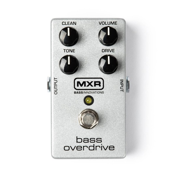 MXR M89 Bass Overdrive Bass Effects Pedal