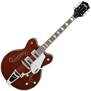 Gretsch G5422TDC Electromatic Double Cutaway Electric Guitar, Walnut