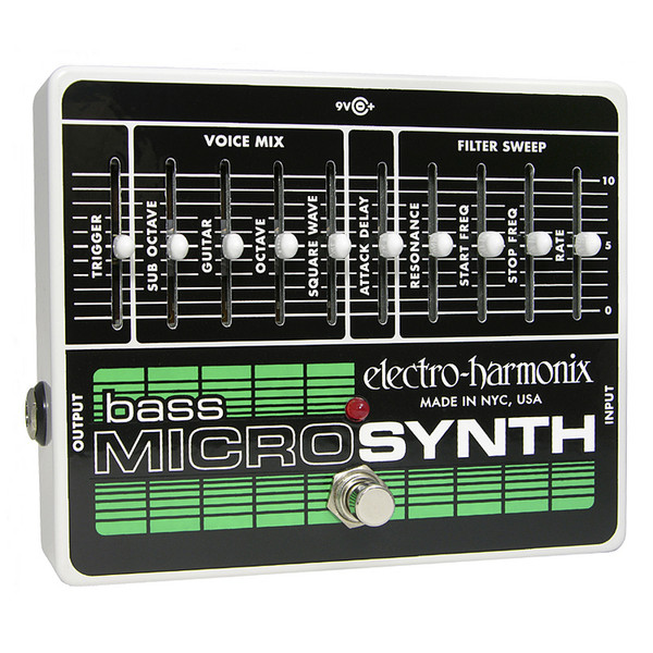 electro harmonix bass micro synth pedal nearly new at gear4music. Black Bedroom Furniture Sets. Home Design Ideas