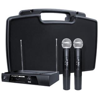 KAM KWM11 Dual Handheld Wireless Microphone System