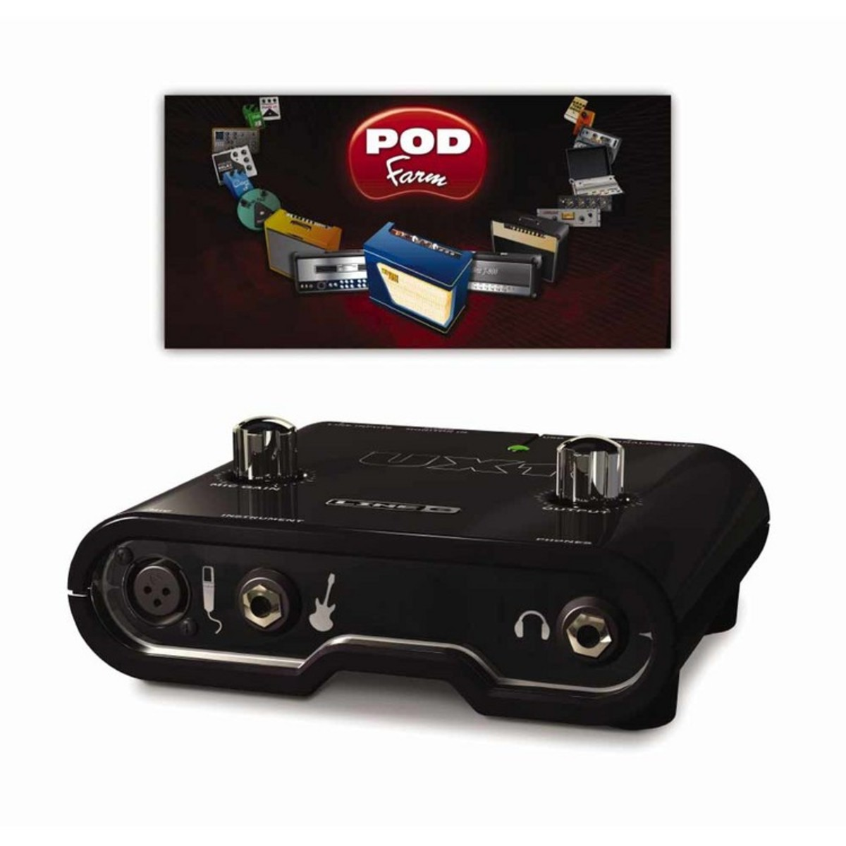 line 6 pod studio ux1 usb audio interface at gear4music. Black Bedroom Furniture Sets. Home Design Ideas