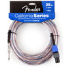 Fender California, Cable de 7,5 m, 14GA, Jack 6.35mm - Speakon