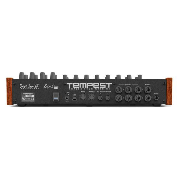 Dave Smith Instruments Tempest Analogue Drum Machine Rear