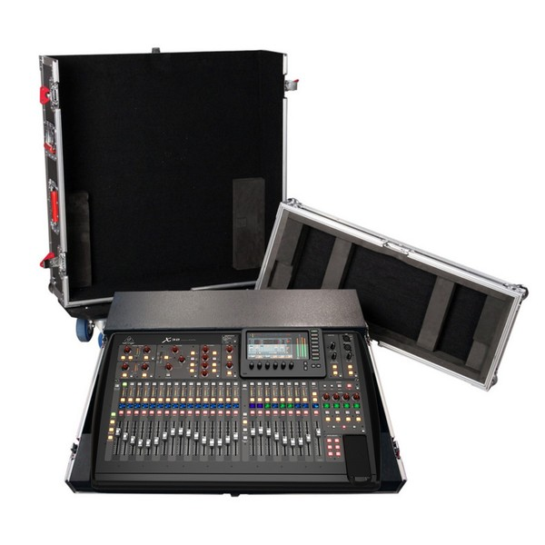 Behringer X32 Digital Mixer and Gator G-TOUR ATA Flight Case