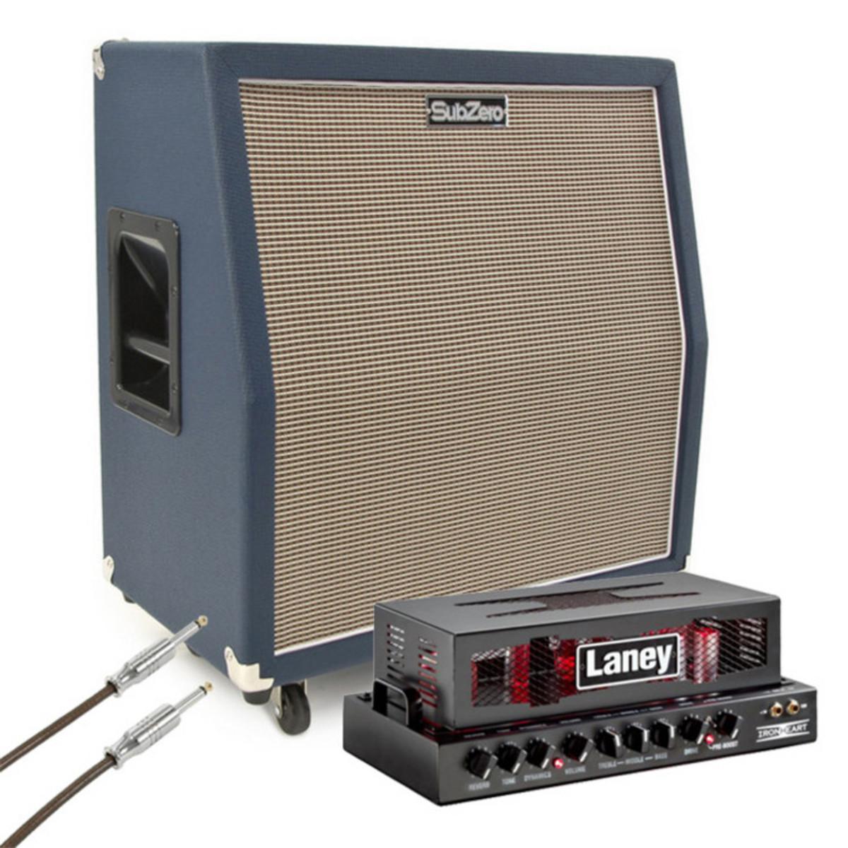 Laney Ironheart IRT15H with SubZero 4x10 Celestion Speaker Cabinet ...