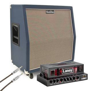 Laney Ironheart IRT15H with SubZero 4x10 Celestion Speaker Cabinet