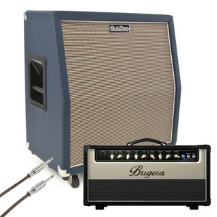 Bugera V55HD with SubZero 4x10 Celestion Speaker Cabinet