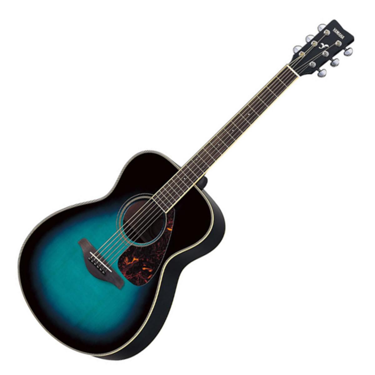 yamaha fs720s acoustic guitar cobalt blue aqua nearly