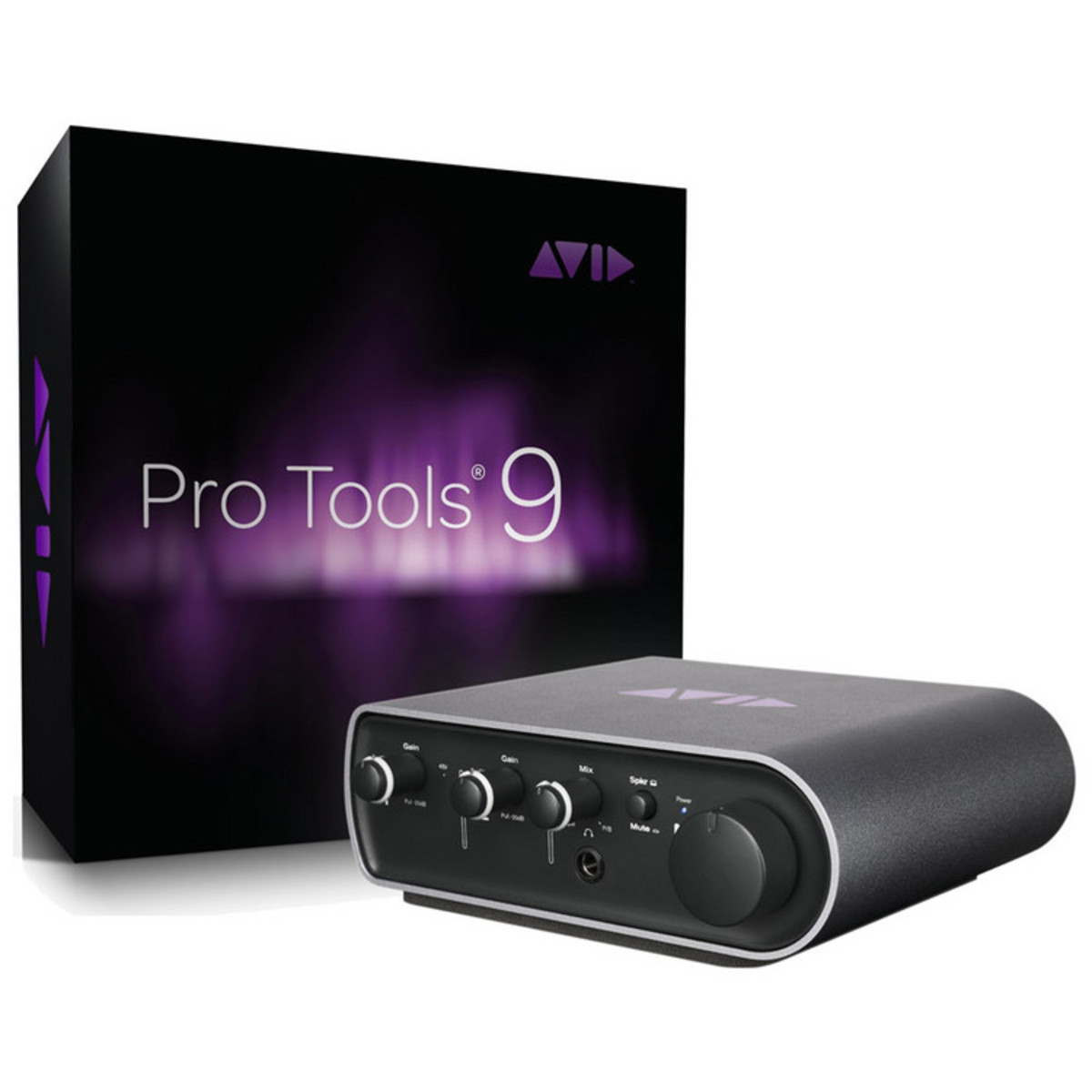 DISC Avid Pro Tools Mbox Mini with Pro Tools 9 (FREE upgrade to PT11)