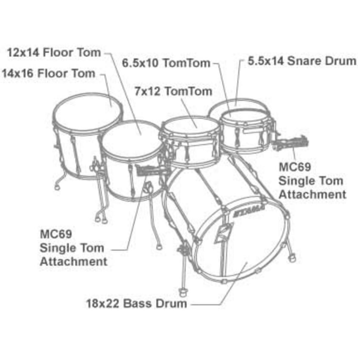 Disc Tama Superstar Hyperdrive Drum Kit Galaxy Silver Burst At Warwick Bass Wiring Diagram Loading Zoom
