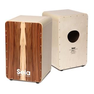Sela CaSela Satin Nut Professional Snare Cajon