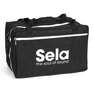 Sela Cajon Bag Nylonbag, Black
