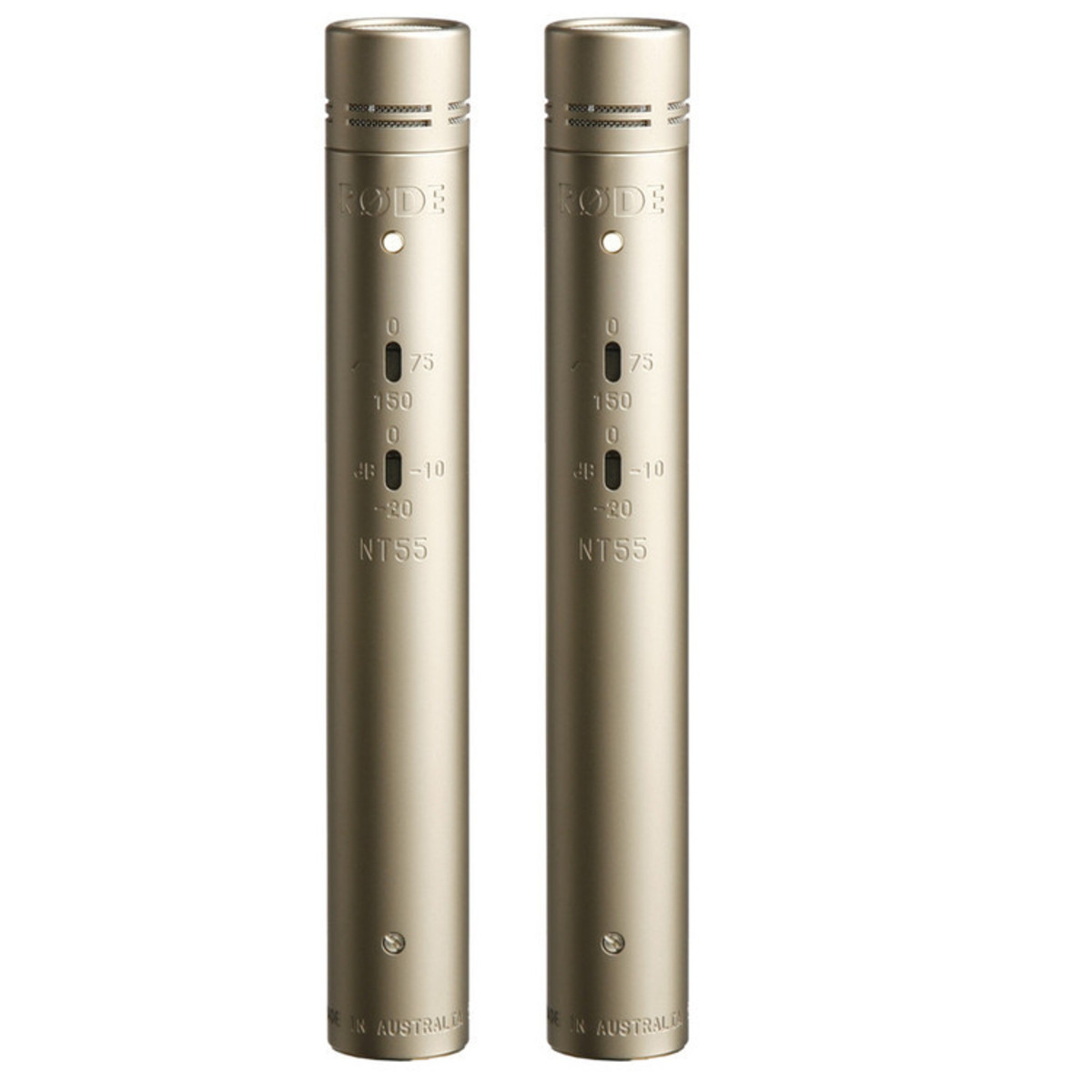 Click to view product details and reviews for Rode Nt55 Studio Condenser Mic Matched Pair.