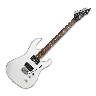 BC Rich ASM One Electric Guitar, White with Multi FX Pedal Pack