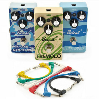 Belcat 3 Pedal Blues Guitar Effects Pack
