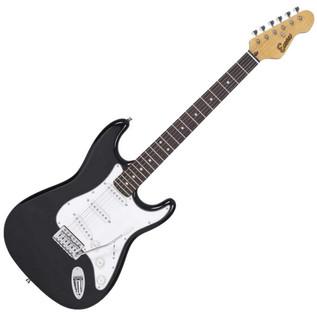 Encore KC3T Electric Guitar, Black