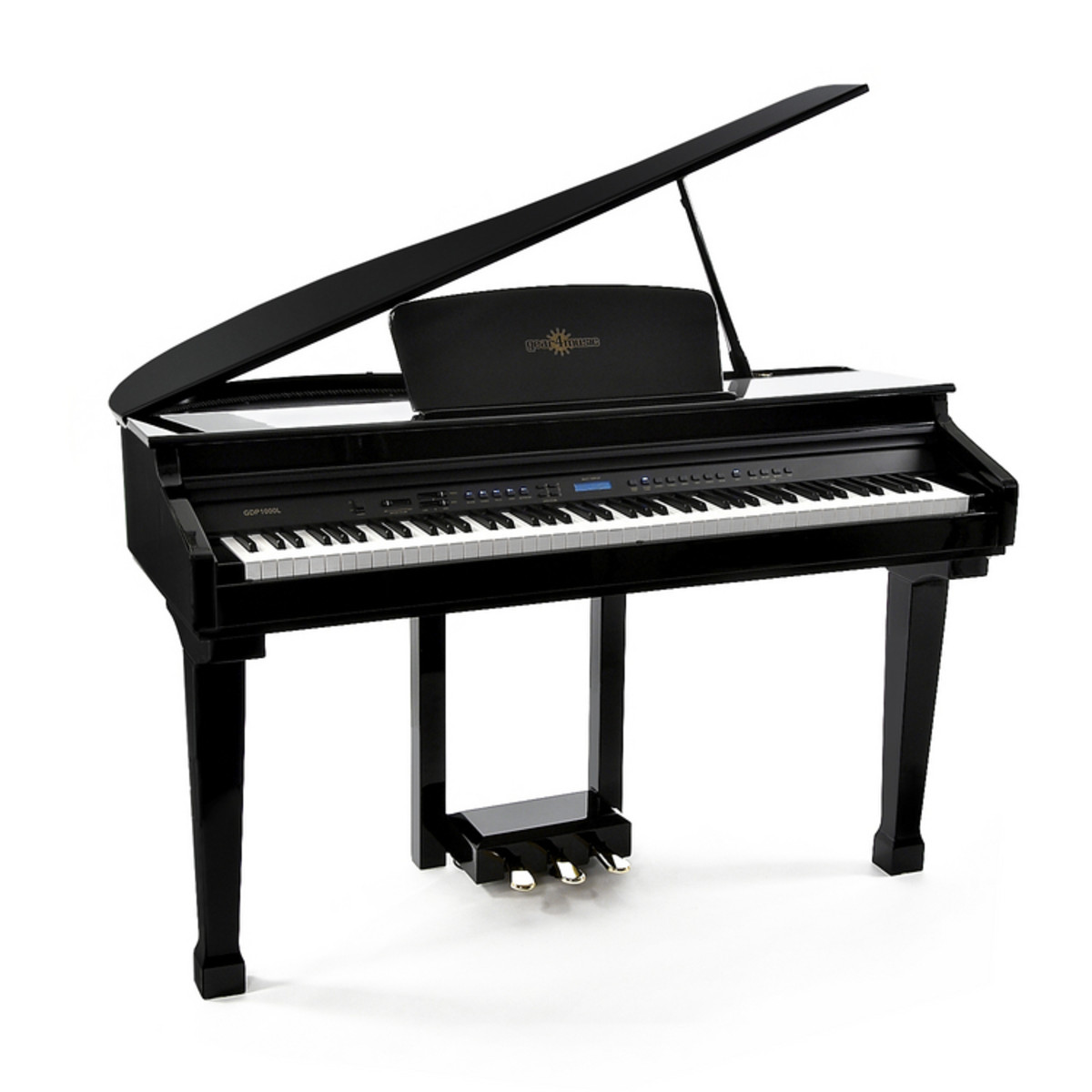 Digital baby grand piano by gear4music nearly new at for What size is a grand piano