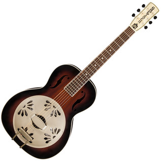 Gretsch G9240 Alligator Biscuit Roundneck Resonator, 2-Color Sunburst