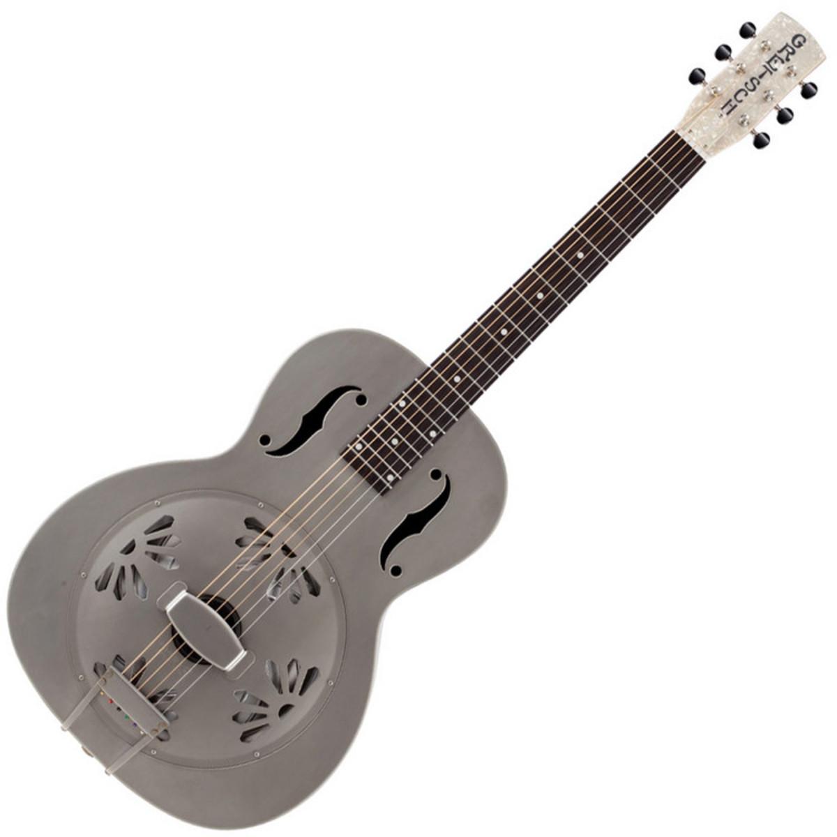 gretsch g9201 honey dipper metal resonator guitar v neck. Black Bedroom Furniture Sets. Home Design Ideas